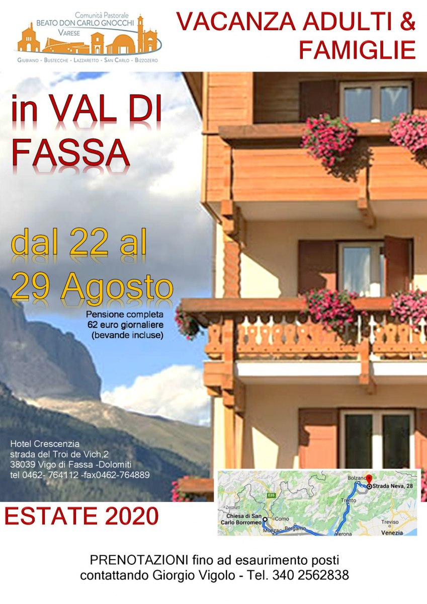 Vacanza in Val di Fassa